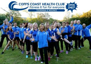 Coffs Coast Health Club team photo
