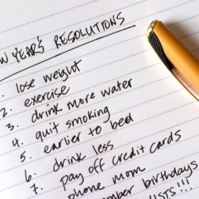 Woopi physio new years resolutions